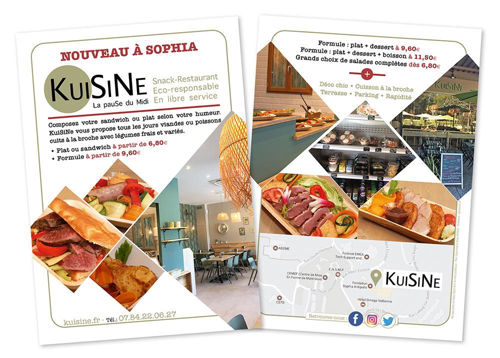 graphiste création flyer restaurant - conditions générales