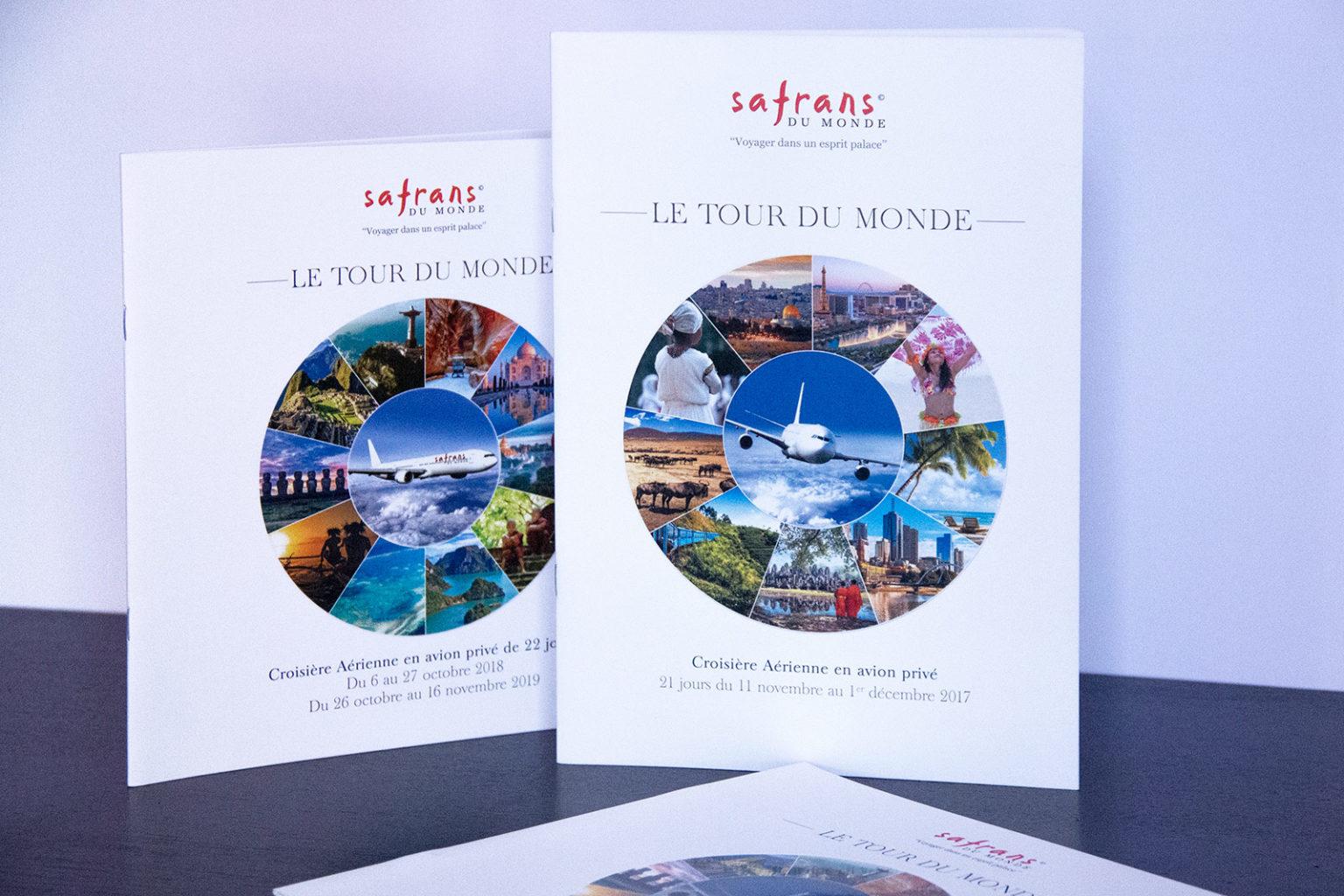 Création brochure de luxe