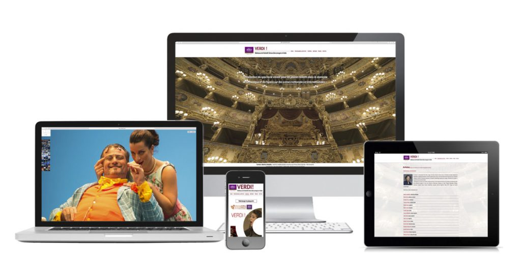 webdesigner création site vitrine